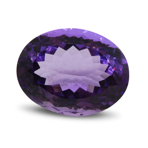 12.67 ct Oval Amethyst