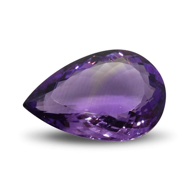 17.47 ct Pear Amethyst