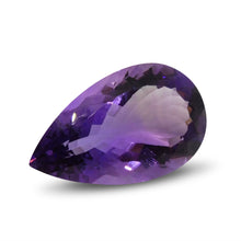 21.52 ct Pear Amethyst