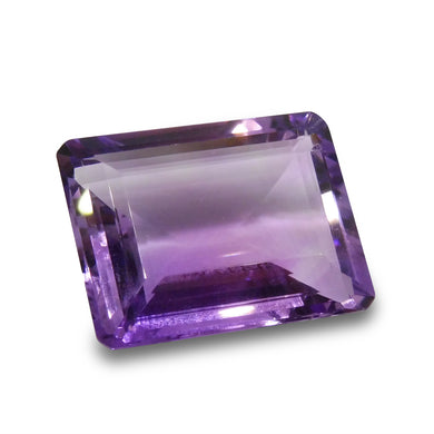 23.72 ct Emerald Cut Amethyst