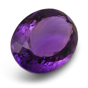 24.50 ct Oval Amethyst