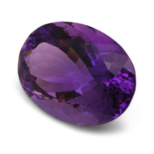 24.40 ct Oval Amethyst