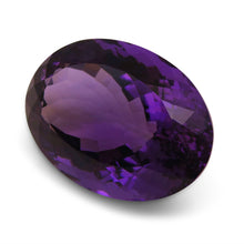 28.45 ct Oval Amethyst