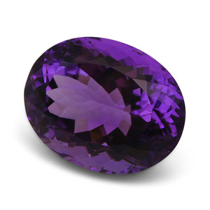 20.08 ct Oval Amethyst
