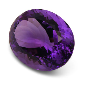 29.80 ct Oval Amethyst