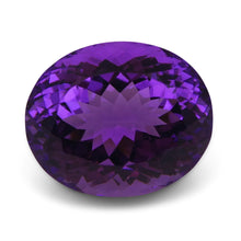 Amethyst 18.3 cts 17.88x14.78x11.91mm Oval Slightly Bluish Purple  $110