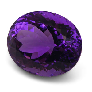 18.30 ct Oval Amethyst