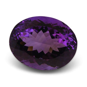 31.90 ct Oval Amethyst