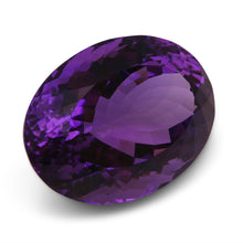 27.65 ct Oval Amethyst