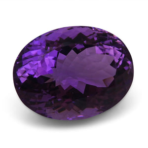 19.40 ct Oval Amethyst