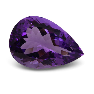 Amethyst 16 cts 21.30x14.47x10.13mm Pear Purple  $95