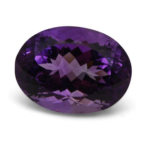 16.64 ct Oval Bolivian Amethyst