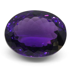 18.65 ct Oval Amethyst - Skyjems Wholesale Gemstones