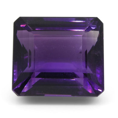 20.1 ct Emerald Cut Amethyst - Skyjems Wholesale Gemstones