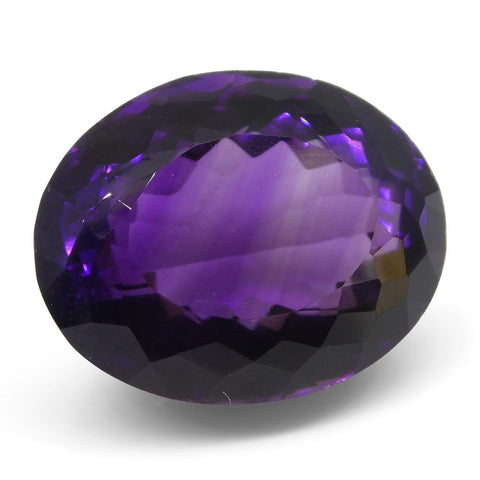 20.6 ct Oval Amethyst