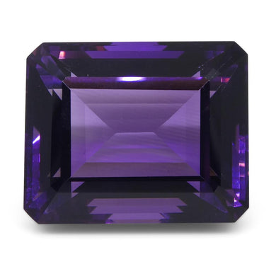 Amethyst 23.1 cts 18.90x15.30x11 mmmm Emerald Cut Purple  $470