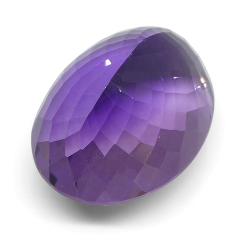 26.08 ct Oval Amethyst