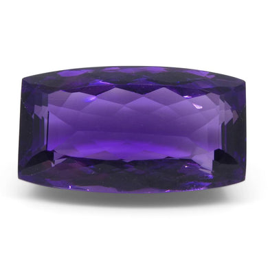 Amethyst 20.5 cts 21.80x12.30x9.70 mmmm Cushion Purple  $410
