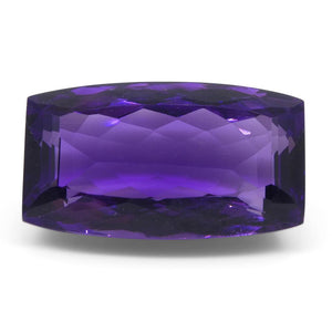 20.5 ct Cushion Amethyst - Skyjems Wholesale Gemstones