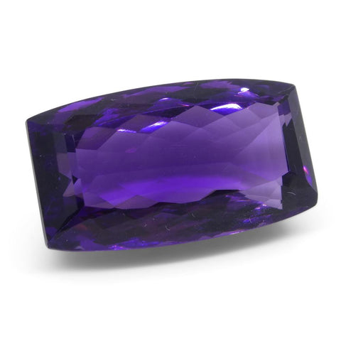 20.5 ct Cushion Amethyst