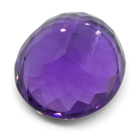 11.36 ct Oval Amethyst