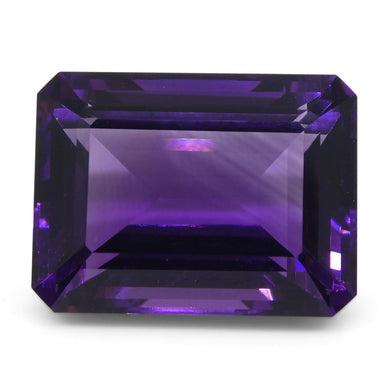 Amethyst 11.64 cts 16x12.10x8.20 mmmm Emerald Cut Purple  $240