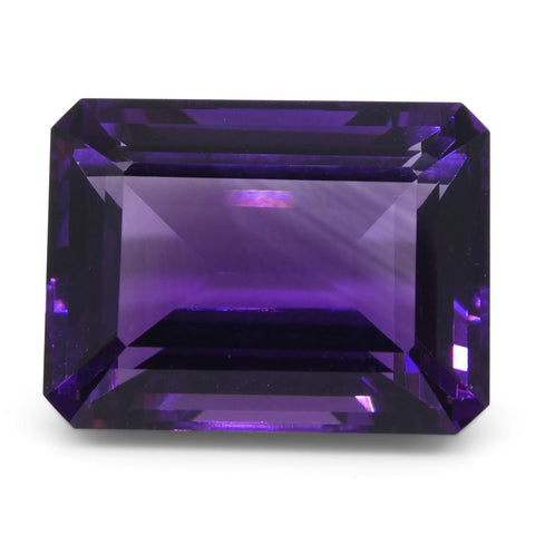 11.64 ct Emerald Cut Amethyst