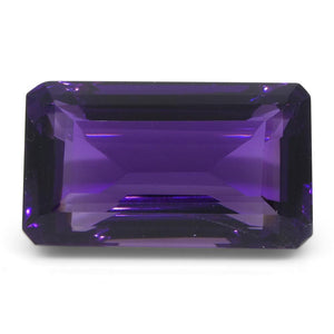 16.18 ct Emerald Cut Amethyst - Skyjems Wholesale Gemstones