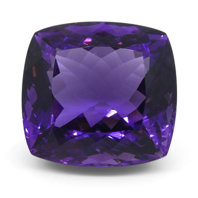 Amethyst 40.25 cts 29.4x20.3x15 mmmm Cushion Purple  $810