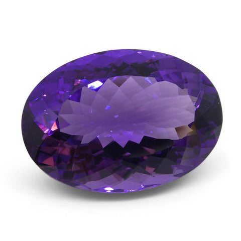 19.79 ct Oval Amethyst
