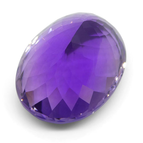 25.94 ct Oval Amethyst