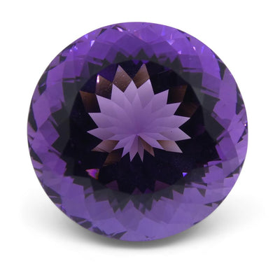 32.55 ct Round Amethyst - Skyjems Wholesale Gemstones