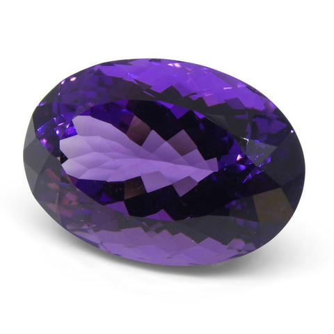 21.69 ct Oval Amethyst