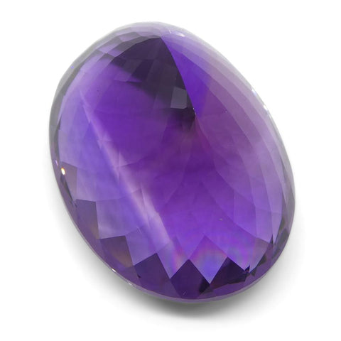 56.13 ct Oval Amethyst