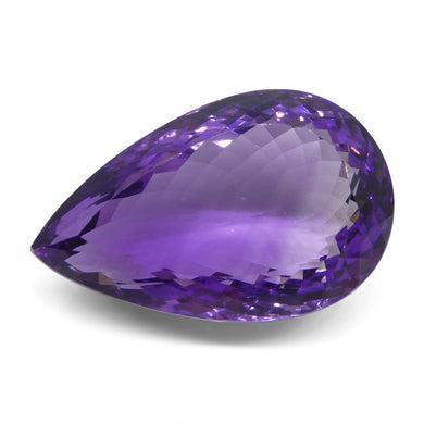 49.9 ct Pear Amethyst - Skyjems Wholesale Gemstones