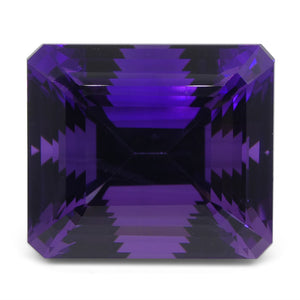 Amethyst 58.38 cts 24x21x18 mmmm Emerald Cut Purple  $1170