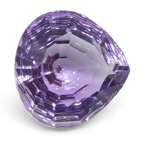 12.46ct Pear Amethyst Fantasy/Fancy Cut