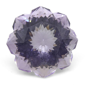 18.60ct Flower Amethyst Fantasy/Fancy Cut - Skyjems Wholesale Gemstones