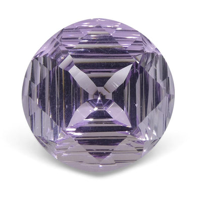18.68ct Round Amethyst Fantasy/Fancy Cut - Skyjems Wholesale Gemstones