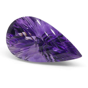 41.94ct Pear Amethyst Fantasy/Fancy Cut - Skyjems Wholesale Gemstones