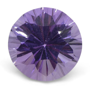 5.77ct Round Amethyst Fantasy/Fancy Cut - Skyjems Wholesale Gemstones