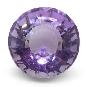 8.70ct Round Amethyst Fantasy/Fancy Cut - Skyjems Wholesale Gemstones