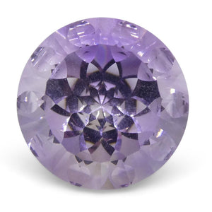 7.55ct Round Amethyst Fantasy/Fancy Cut - Skyjems Wholesale Gemstones