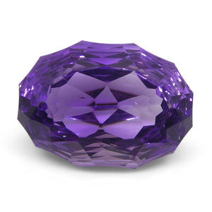 Amethyst 5.5 cts 14.00 x 10.00 x 7.10 mm Oval Purple  $195