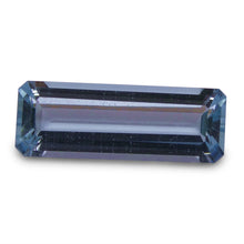 Aquamarine 3.58 cts 17.32x6.26x4.06mm Baguette Blue  $110