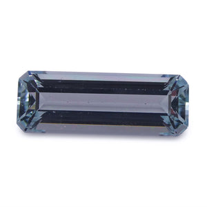 Aquamarine 2.06 cts 13.63x4.90x3.85mm Baguette Blue  $60