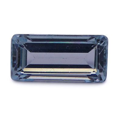 Aquamarine 2.44 cts 11.34x5.59x4.59mm Baguette Blue  $70