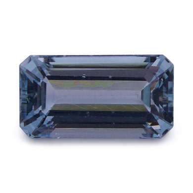 Aquamarine 2.07 cts 10.45x5.64x4.43mm Baguette Blue  $60