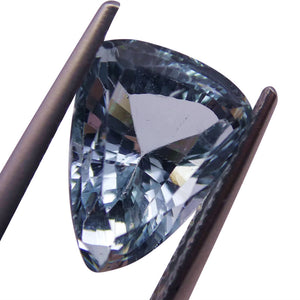 2.98 ct Shield / Trillion Aquamarine
