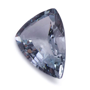 2.21 ct Shield / Trillion Aquamarine